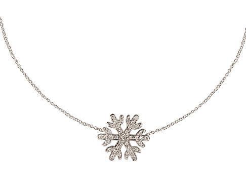 White Snowflake Bracelet