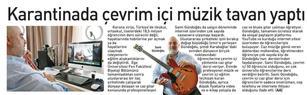 Basında Jazz Gitar Dersi