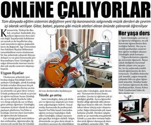 Jazz Gitar Dersi Anadolu Ajansı Haber