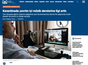Anadolu Haber Röportajı 1