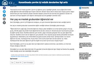 Anadolu Ajans Röportajı 3