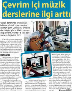 Jazz Gitar Dersi Gazete Haberleri