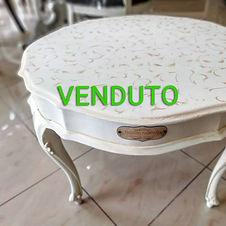 tavolino da salotto shabby
