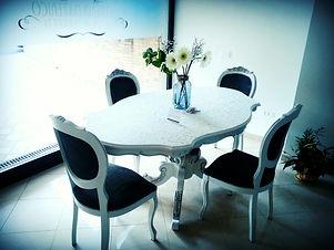 Tavolo e Sedie in stile Shabby Chic
