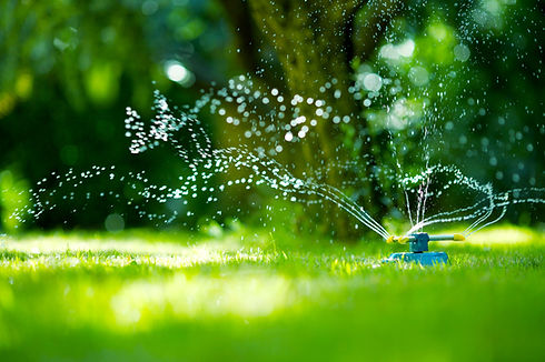 Garden Hose Sprinkler, watering system for lawn, grass, garden and treatments for the lawn