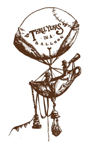 Three Years in a Balloon