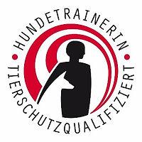 Logo Tierschutzqualifizierter Hundetrain