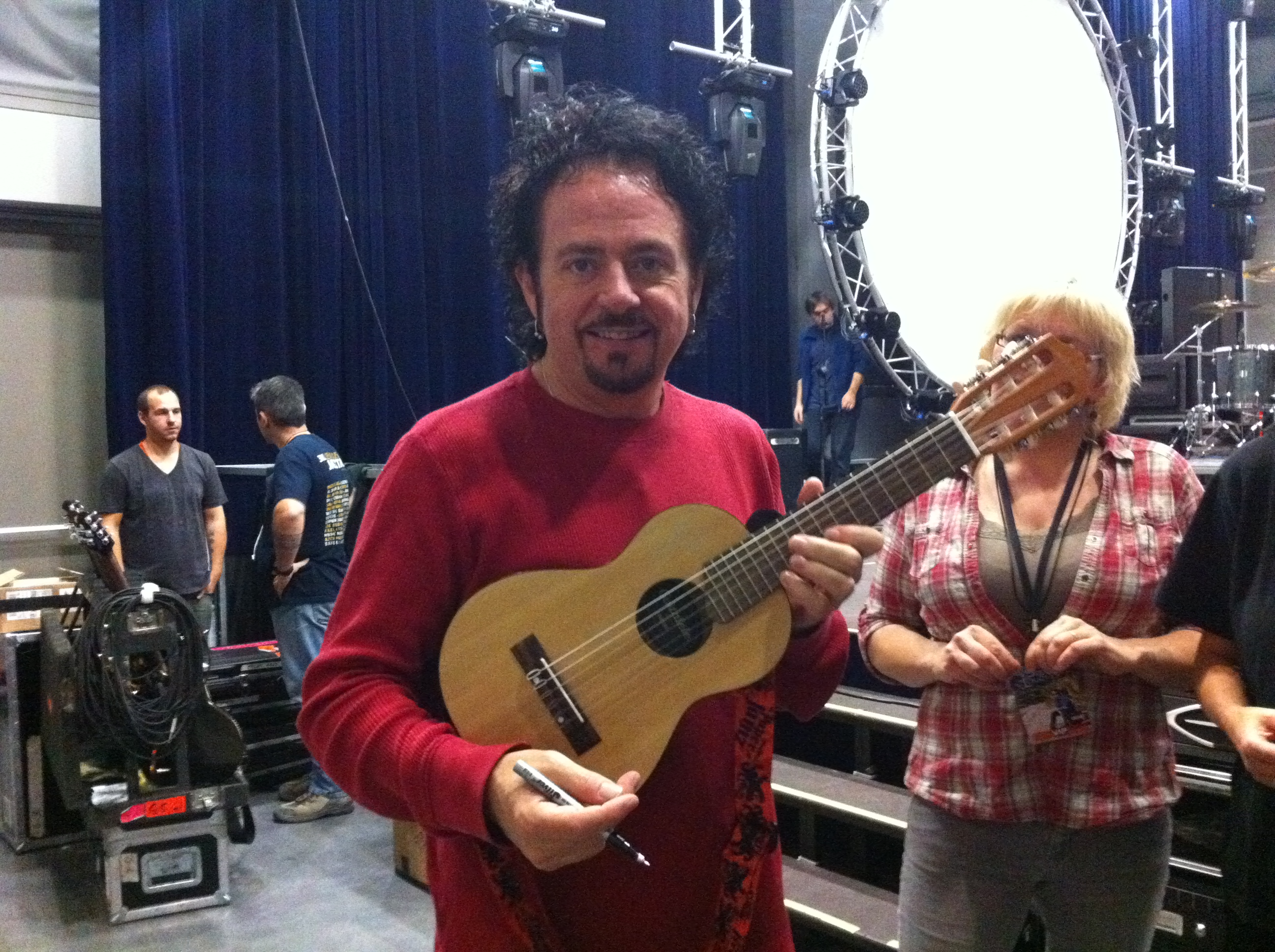 guitare ema et steve lukather