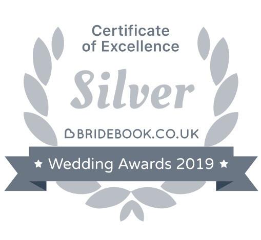 Bridebook.co.uk wedding awards 2019