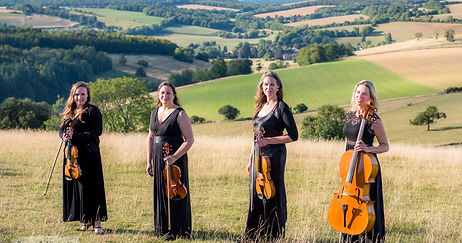 South Downs Strings Quartet featuring violin and cello