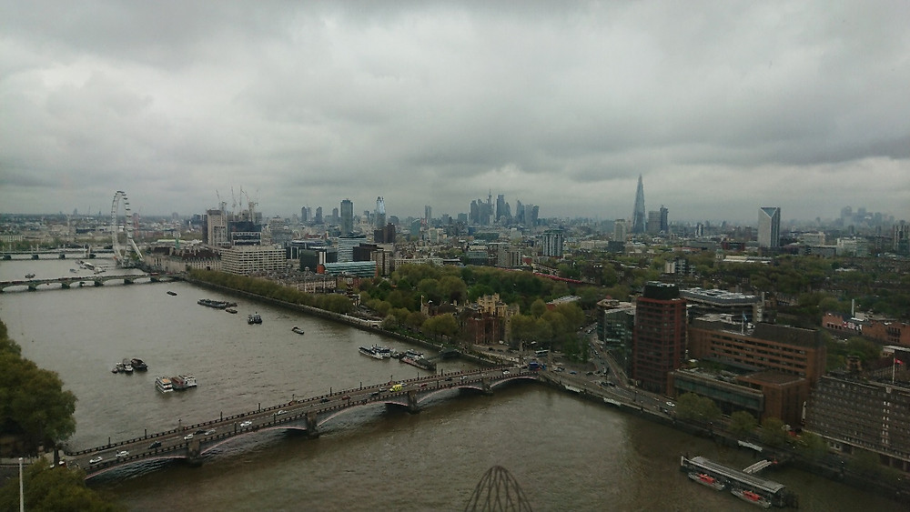 View from Millbank Tower, London