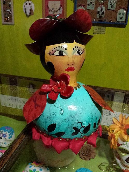 Gourd doll