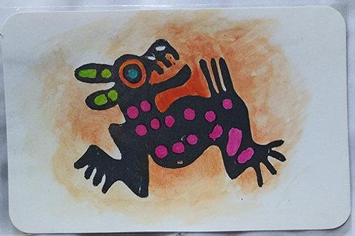Postacard, Aztec dog
