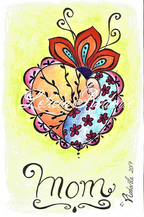 """Pasley mom"" illustration"