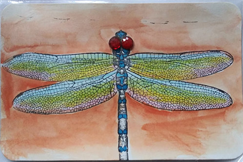 Postacard, dragonfly