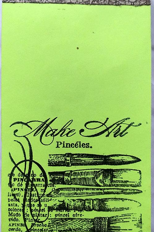 "Notepad ""Make art"""