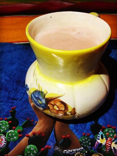 Atole de calabaza en tacha (pumpkin) 12 oz cup