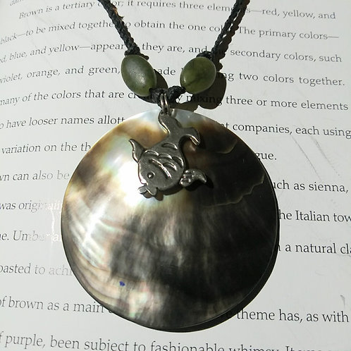 Necklace, shell and fish