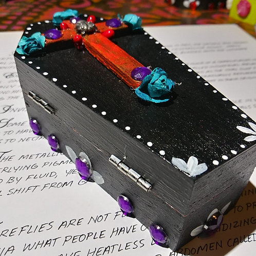 Day of the dead coffin