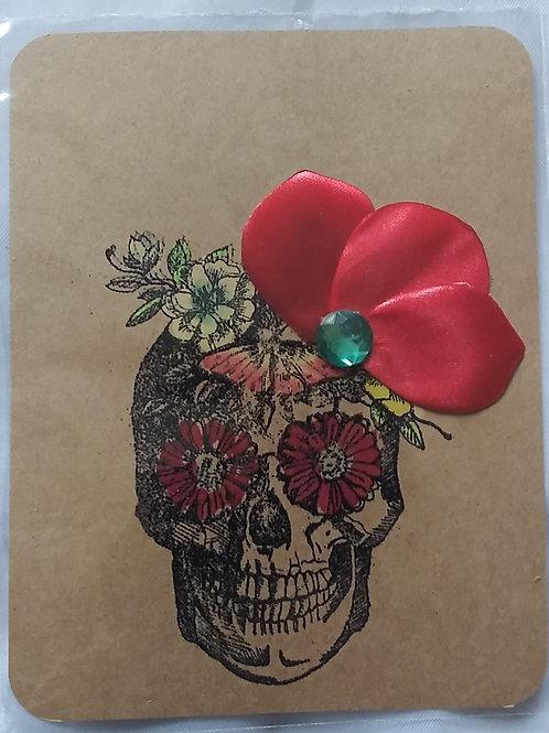 Sugar skull postcad