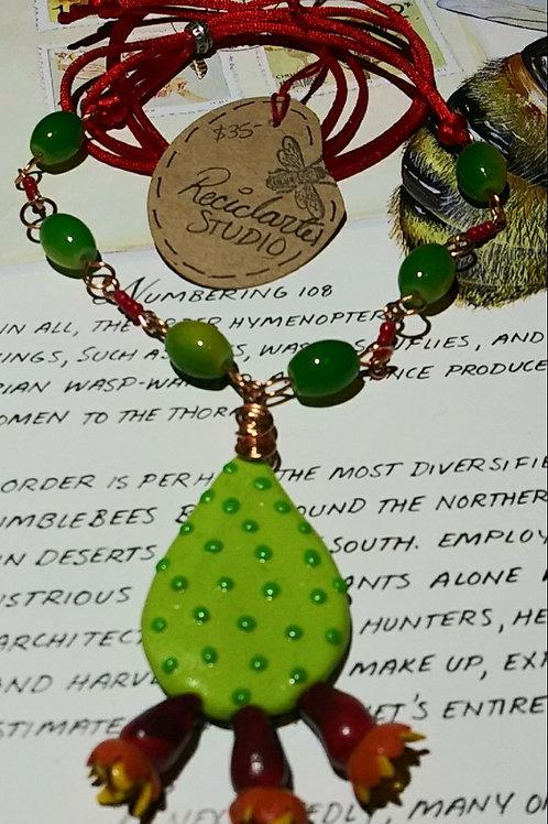 Necklace, nopal