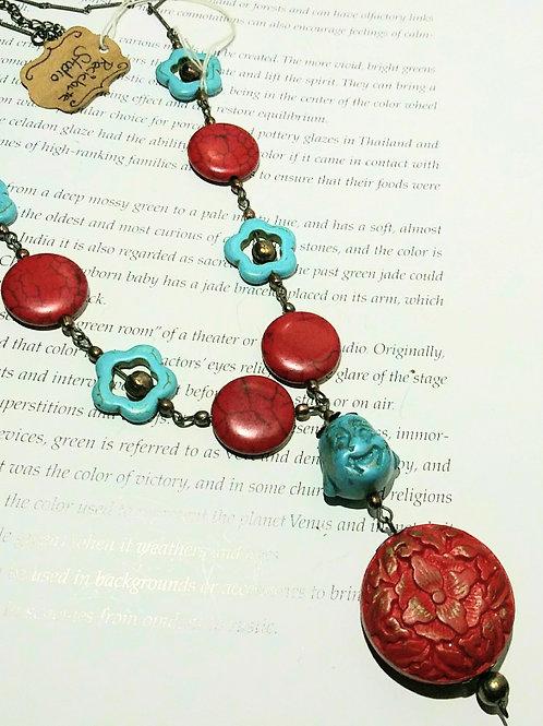 Necklace, budha