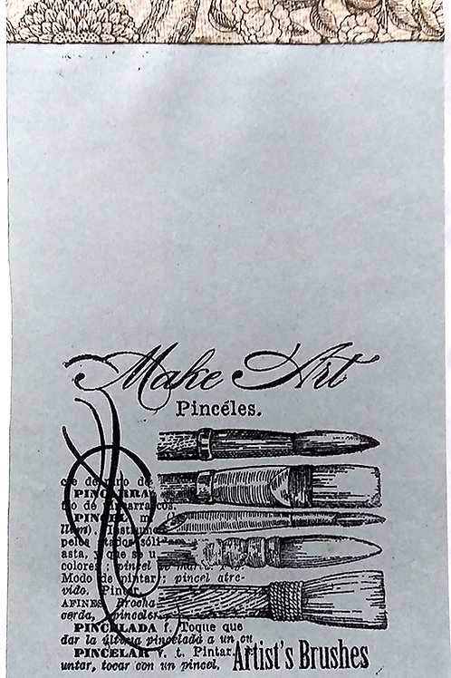 Notepad, Make art