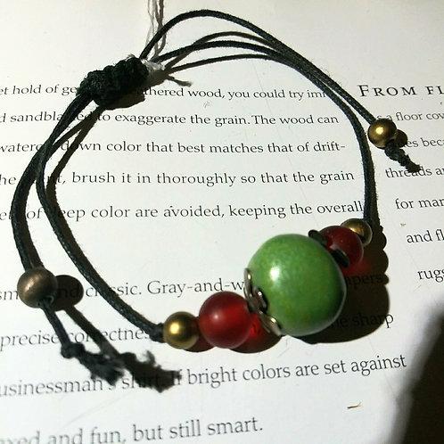 Bracelet, verde