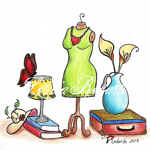 """Window shopping"" illustration"
