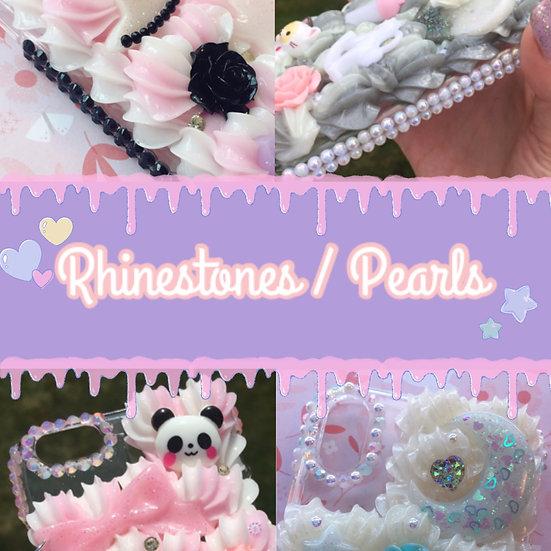 Rhinestone, Pearl, or Combo Sides [Upgrade]