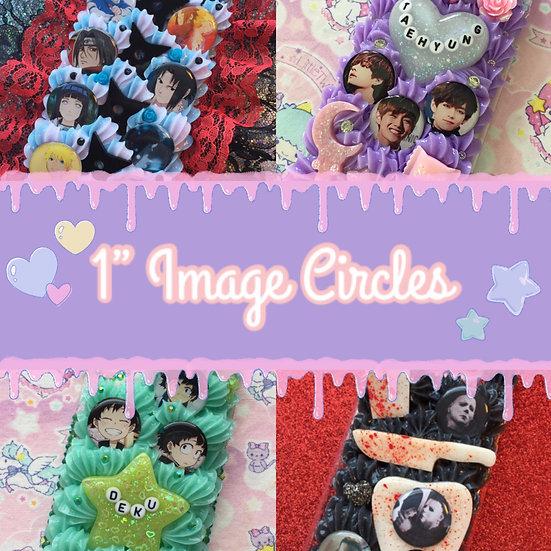 1 Inch Image Circles [Upgrade]