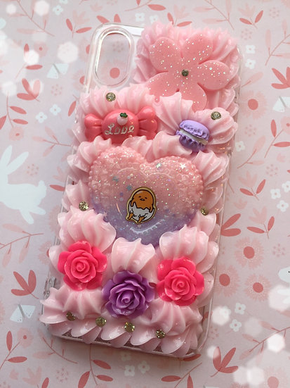 iPhone X Decoden Phone Case Roses & Egg