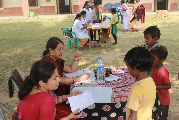 Medical Camp at Kacharu