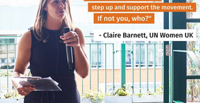 Spotlight: Claire Barnett, Executive Director at United Nations Women!!