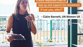 Spotlight: Claire Barnett, Executive Director at United Nations Women!!