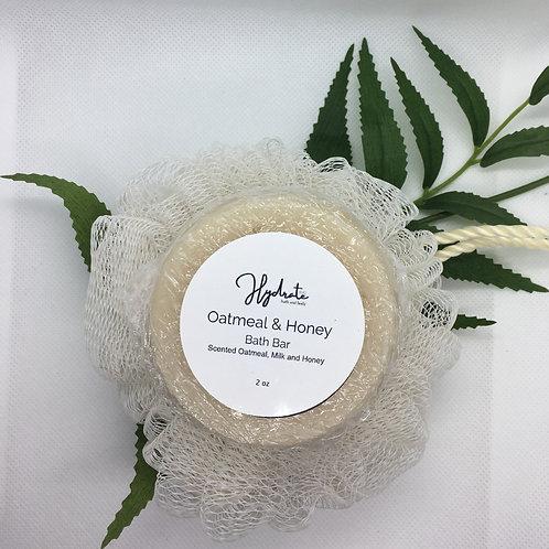 Oatmeal Sensation Bar Soap 2oz (fragranced with Oatmeal, Milk & Honey)