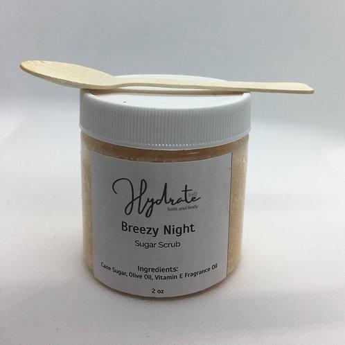 Breezy Night Sugar Scrub 4oz (fragranced with Falling Leaves)