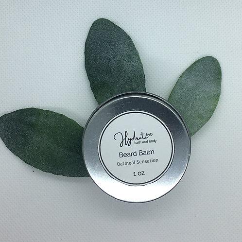 Hydrate Beard Balm 1 oz  (fragranced with Oatmeal Sensation)