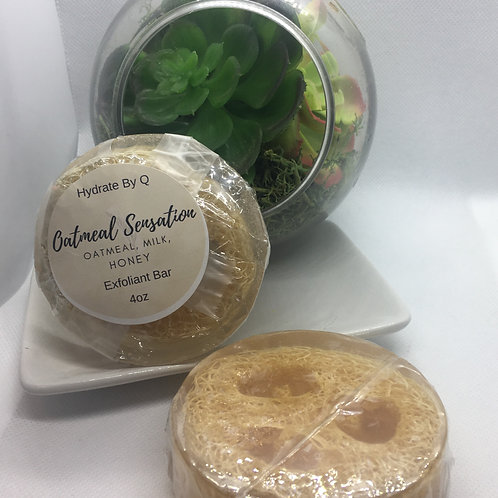 Oatmeal Sensation Exfoliant Bar 4oz