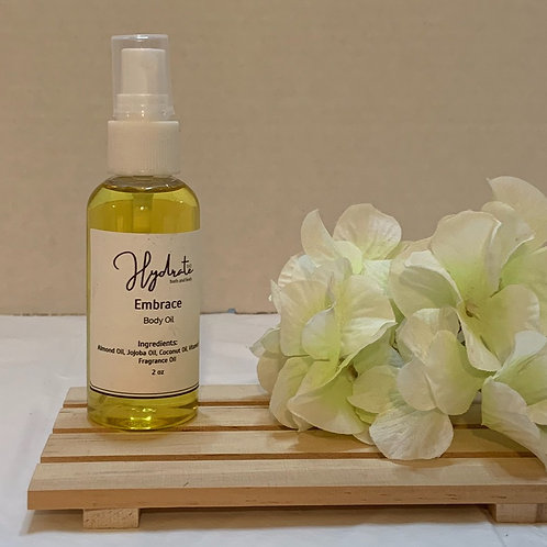 Embrace Body Oil 2 oz (fragranced with Sandalwood)