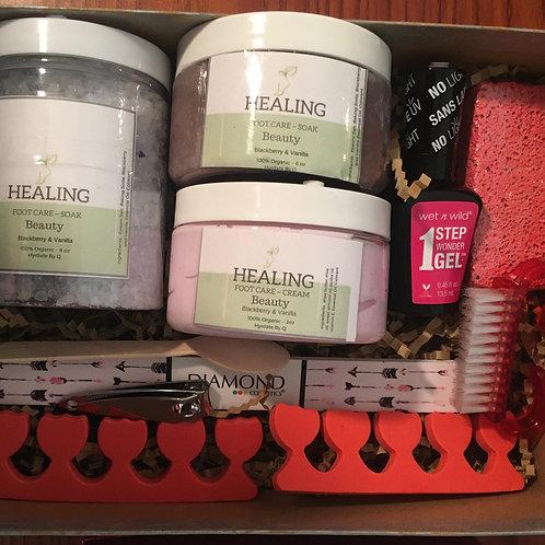 Beauty Foot Care Basket