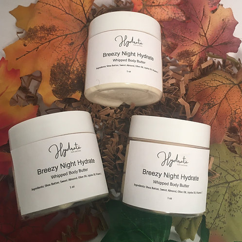3- 2 oz Whipped Body Butters