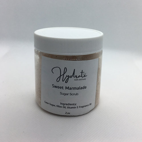 Sweet Marmalade Sugar scrub 4 oz (fragranced with Cran Apple Marmalade)