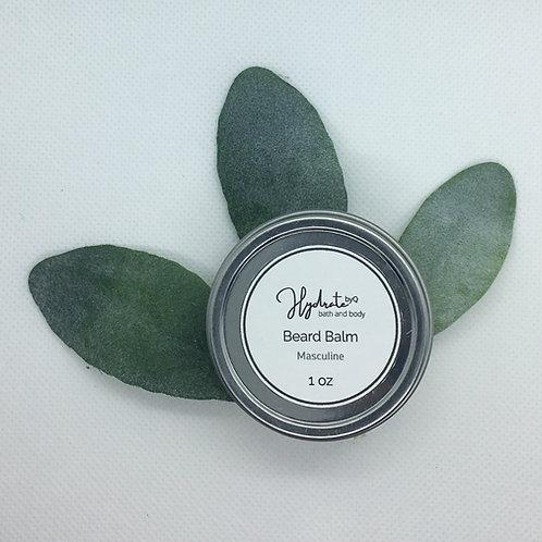 Hydrate Beard Balm 1 oz  (fragranced with Frankincense and Myrhh)