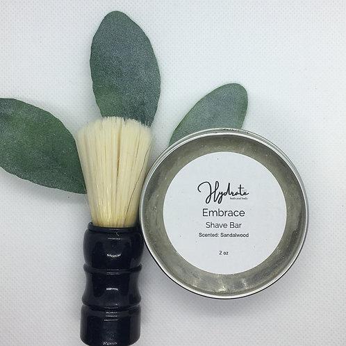 Embrace Shave Soap 2oz (fragranced with Sandalwood)