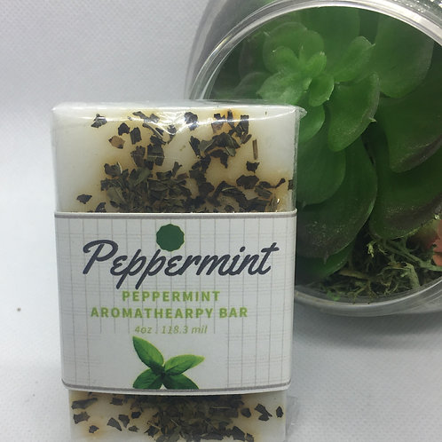 Peppermint Aromatherapy 4 oz Bar