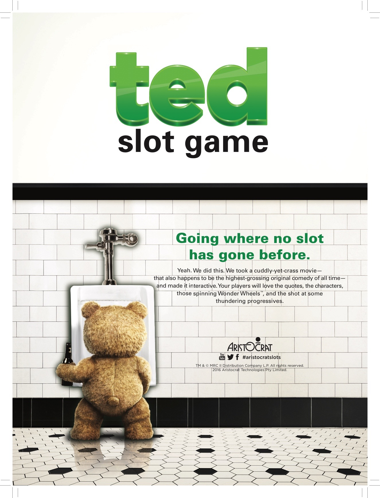 Ted Slot Launch for Aristocrat
