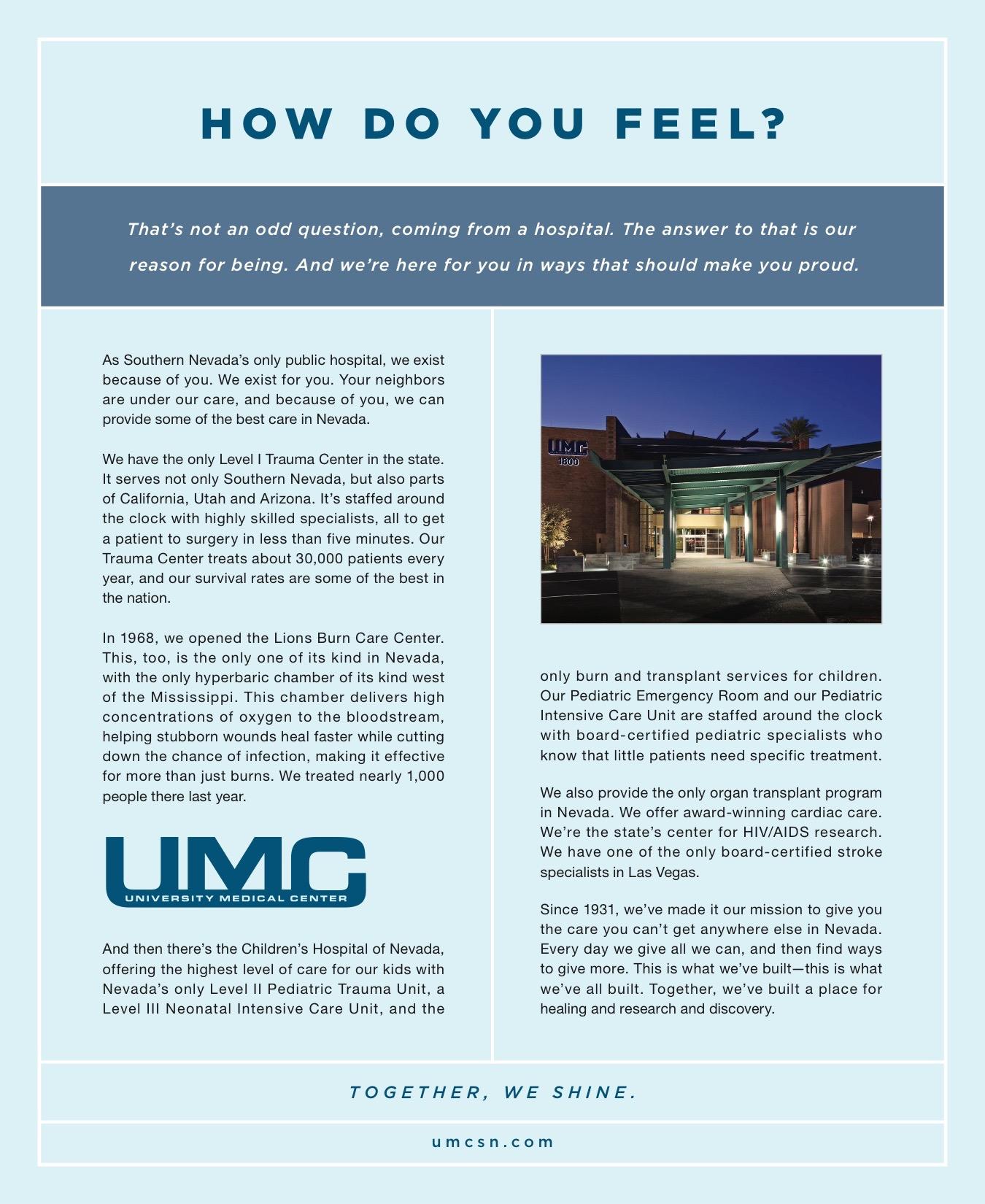 UMC Top Docs Ad