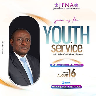 Bishop Tweneboah August Youth Service