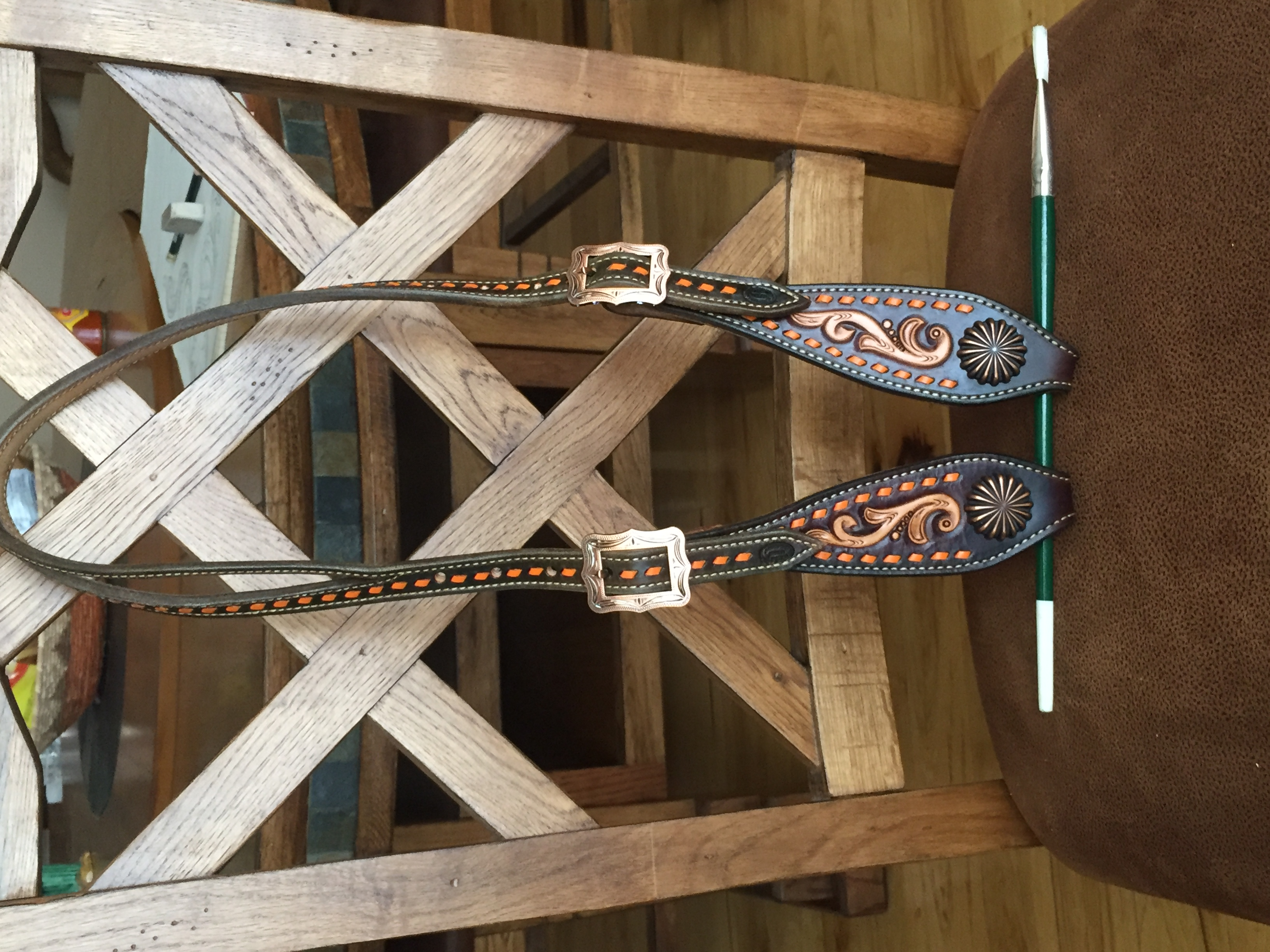 Leather Single Ear Headstall